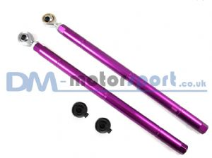 RX7 FD3S Purple Adjustable Rear Toe Control Lower Arms (Pair)
